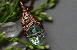 Bianka - naszyjnik z kryształem