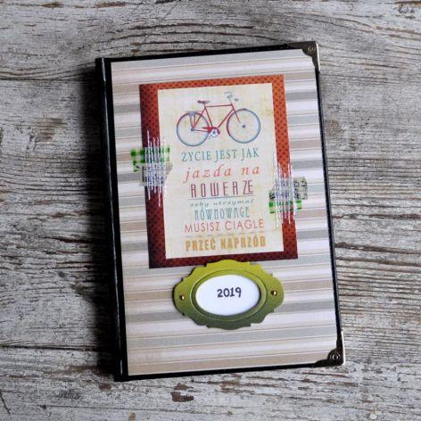 Kalendarz książkowy A5 - układ dzienny nr25