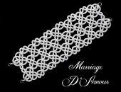 Ślubna bransoletka koronkowa - Marriage D'Amour