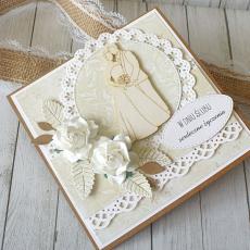 Kartka ślubna w pudełku - rustykalna Natura.4