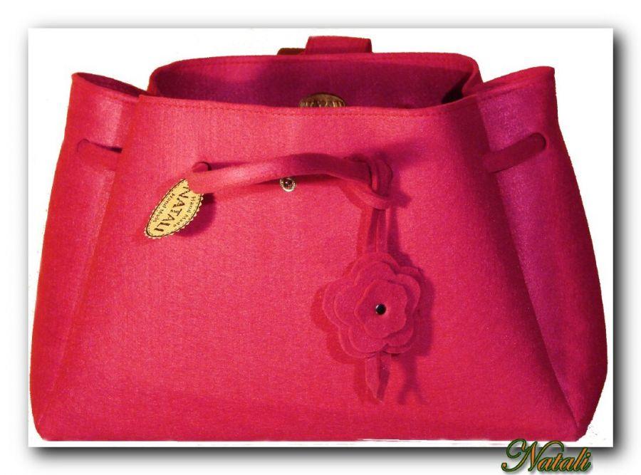 Nowos!! Elegancka, gustowna torba Różowa