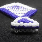 """Komplet """"Navy blue"""" - zbliżenie na krawatkę"""