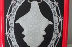 Pergaminowa Maryja -wzór III - OBRAZEK