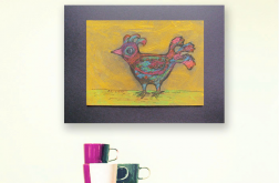 Rysunek z ptaszkiem, ptaszek obrazek n32