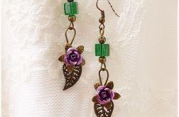 Fioletowe różyczki
