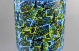 Błękitno-zielona lampa nocna sEN kOSIARZA 5 S