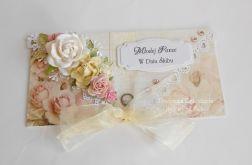 Kopertówka ślubna z różami