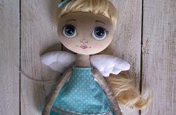 ANIOŁEK, lalka tekstylna, OOAK