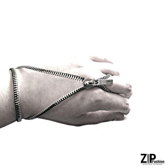 Rockowa bransoletka z pierścionkiem  - Rockowa bransoletka - edycja limitowana