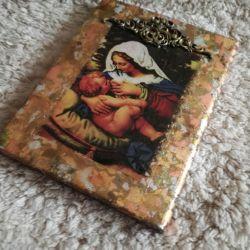 Ikona z wizerunkiem Matki Bożej Karmiącej