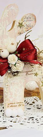 Świąteczne reniferki