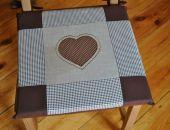 Poduszki na krzesła,siedziska- piernikowe 4szt
