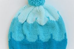 Knitting Colorful Hats- Oceanic Blue