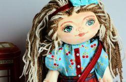 Lalka ręcznie malowana - Basia 50 cm