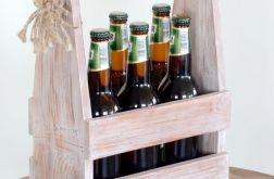 Drewniana skrzynka na piwo,wino,napoje