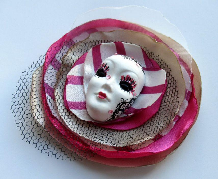 Broszka Masquerade - Diva