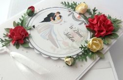 ZAPATRZENI W SIEBIE - kartka na ślub