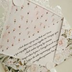 Kartka ślubna kopertówka róże - życzenia