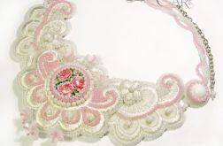 Ślubna kolia - Romantyczna Róża