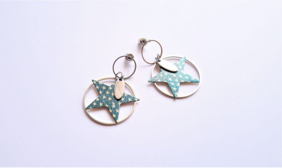 Kolczyki z serii StaLove - gwiazdy 2 -