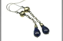 Srebro Lapis Lazuli