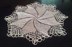 Serwetka na drutach 50cm, pudrowy róż