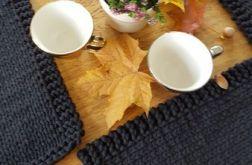 Komplet czarnych podkładek na drutach