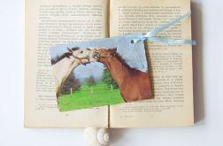 Zakładka do książki-konie nr 2