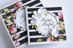 Komplet ślubny - kartka w pudełku