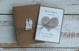 Oryginalna kartka na ślub 1