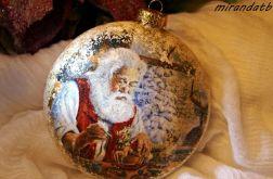 Medalion zapracowany Mikołaj