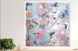 Obraz abstrakcyjny ręcznie malowany