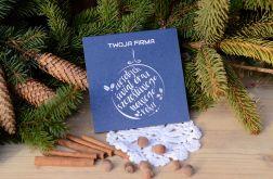 """Kartka świąteczna - """"wesołych świąt"""""""