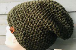 czapka typu beanie wojskowa zieleń