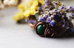Marcelina - pierścień z marmurem