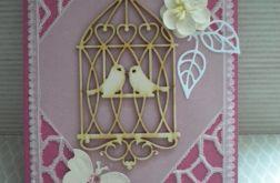 Ptaszki w klatce- kartka