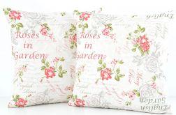 Poduszka dekoracyjna 45x45cm - Róże