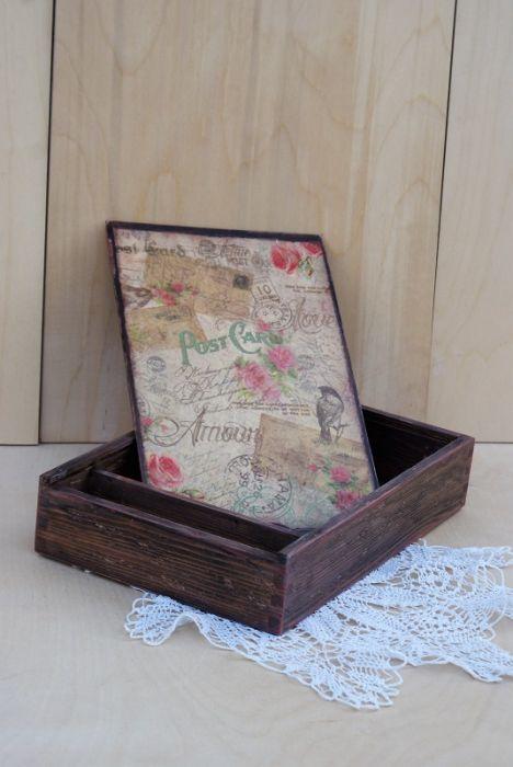 Pudełko na zdjęcia i pendrive