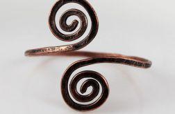 Zawijasy - miedziana bransoletka 191022-04