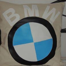 POSZEWKA ROZMIAR 40X40CM BMW BEŻOWA