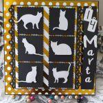 Kartka urodzinowa dla nastolatki fanki kotów - kartka urodzinowa dla fanki kotów 2