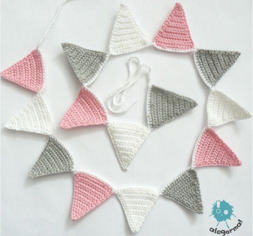 ale girlanda! 15 małych trójkątów