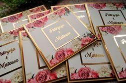 Zaproszenia ślubne glamour 01