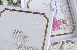 Ślubna kartka w pudełku 366