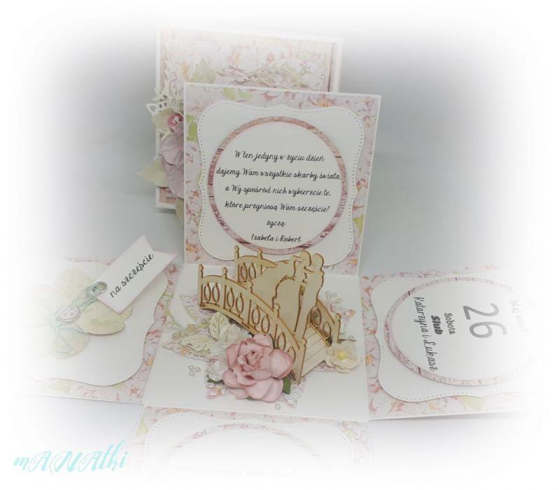 Pudełko...karnet ślubny...rocznica ślubu