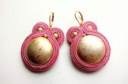 Kolczyki sutasz Gold&Pink
