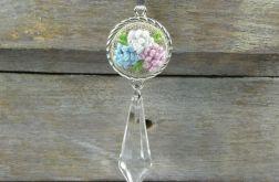 Naszyjnik kwiaty z soplem