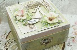Pudełko ślubne - niezbędnik małżeński NM3