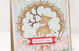 JELONEK świąteczna kartka wigilia KBN1937
