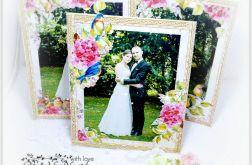 Ramka na zdjęcie - motyw kwiatów